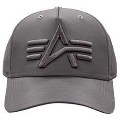 Alpha Industries Čepice Baseball Flight Cap rep. šedá