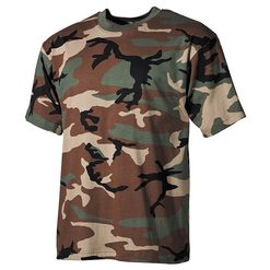 Tričko US T-Shirt woodland 4XL