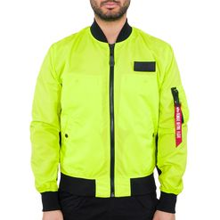 Alpha Industries Bunda  MA-1 Neon neon yellow L