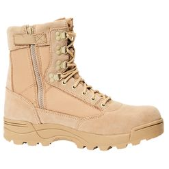 Brandit Boty Tactical Boot ZIPPER camel 46 [11]