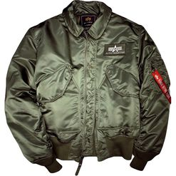 Alpha Industries Bunda  CWU 45 šalvějová 3XL