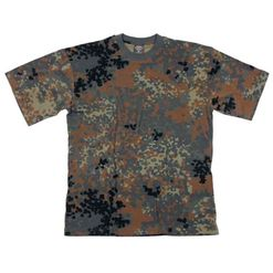 Tričko US T-Shirt flecktarn 4XL