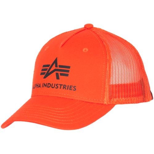 Alpha Industries Čepice Baseball Basic Trucker Cap flame orange