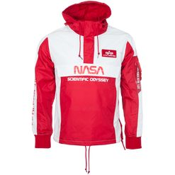 Alpha Industries Bunda  Odyssey Anorak speed red XXL