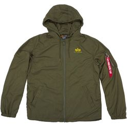 Alpha Industries Bunda  Windbreaker w.o. Back Print olivová tmavě S