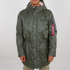 Alpha Industries Bunda  Raincoat TL olivová L