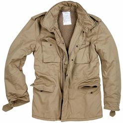 Bunda Paratrooper Winter Jacket béžová 5XL