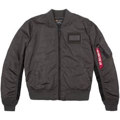 Alpha Industries Bunda  MA-1 TT Custom greyblack M
