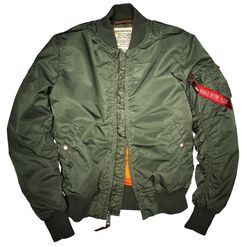 Alpha Industries Bunda  MA-1 VF 59 šalvějová S