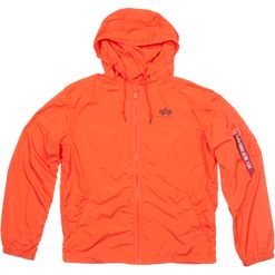 Alpha Industries Bunda  Windbreaker w.o. Back Print flame orange M