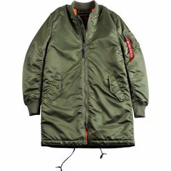 Alpha Industries Bunda  MA-1 Coat šalvějová L