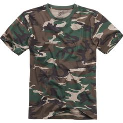 Tričko US T-Shirt BRANDIT woodland 4XL
