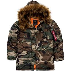 Alpha Industries Bunda  N3B VF 59 woodland M