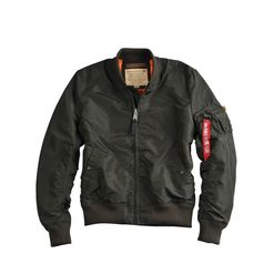 Alpha Industries Bunda  MA-1 TT rep. šedá L