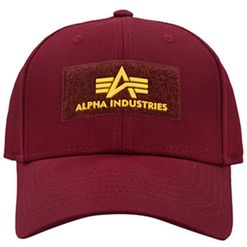 Alpha Industries Čepice Baseball VLC Cap II bordová