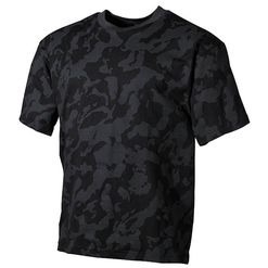Tričko US T-Shirt nightcamo M